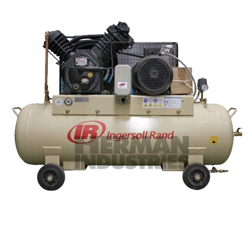 Ingersoll rand 2 stage cast iron reciprocating air for Ingersoll rand air compressor motor starter